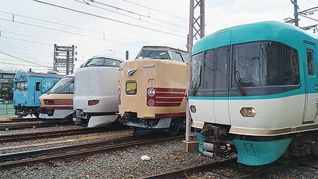 吹田総合車両所が一般公開される