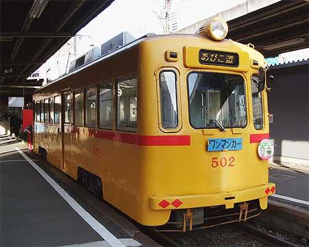 阪堺電軌モ502に変化