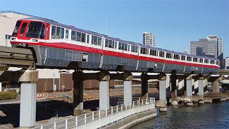 東京モノレール 500形塗装「ヒストリートレイン」の運転開始