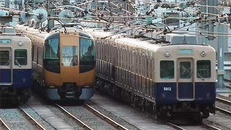 近鉄22600系が阪神尼崎車庫へ