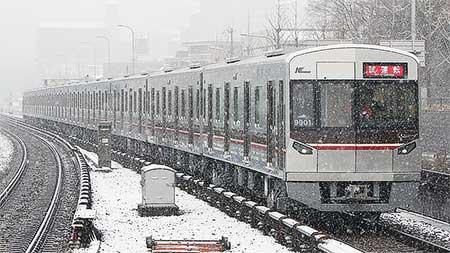 北大阪急行9000系の試運転が始まる
