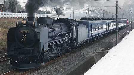 D51 498が信越本線で試運転