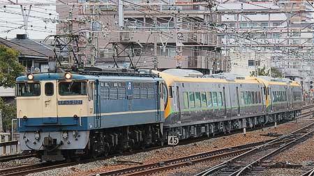 JR四国8600系の量産先行車が甲種輸送される