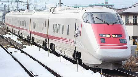 E926形「East i」が山形新幹線を検測