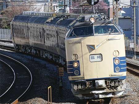 583系が東海道本線・伊東線に2週連続で入線