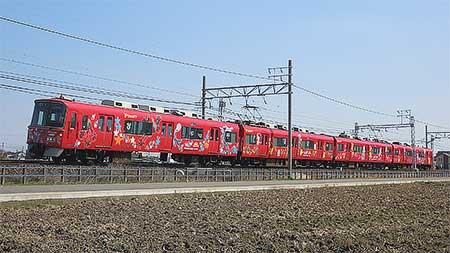 名鉄で「ポケモンXY号」運行開始