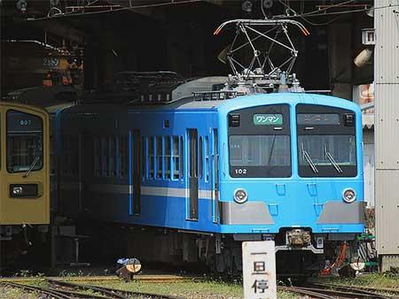 近江鉄道100形に第2編成が登場