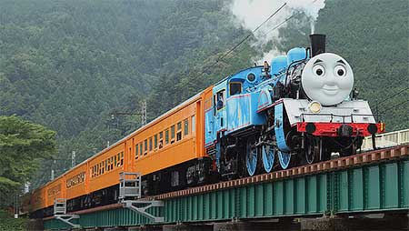 大井川鐵道で「きかんしゃトーマス」の運転開始