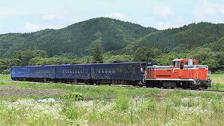東北本線・釜石線でDE10+キハ141系が試運転