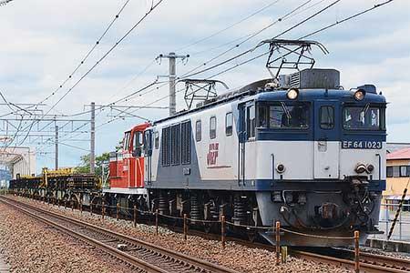 衣浦臨海鉄道KE65 1が広島車両所から出場
