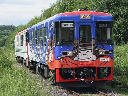 りくべつ鉄道で本線乗車体験