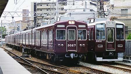 阪急3000系3076編成が正雀へ