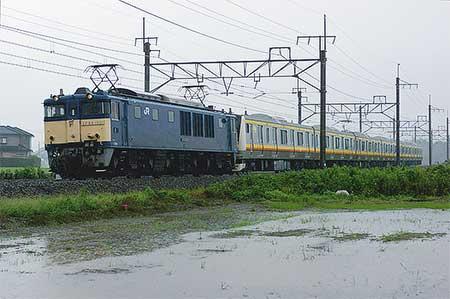 E233系8000番台N3編成が配給輸送される