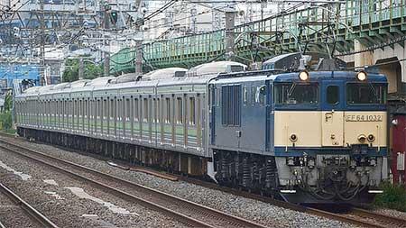 205系H19編成が新津へ