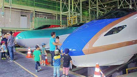 『第29回新幹線車両基地公開』開催