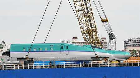 H5系が川崎重工から出場
