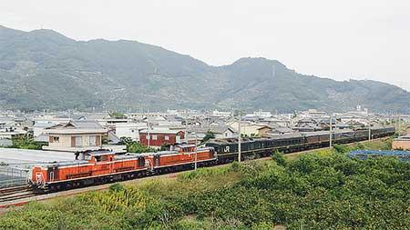 紀勢本線で「トワイライトエクスプレス」編成の団体臨時列車運転