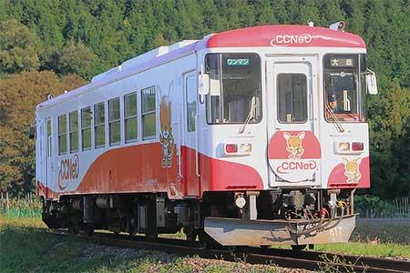 樽見鉄道ハイモ295-617の塗装が変更される