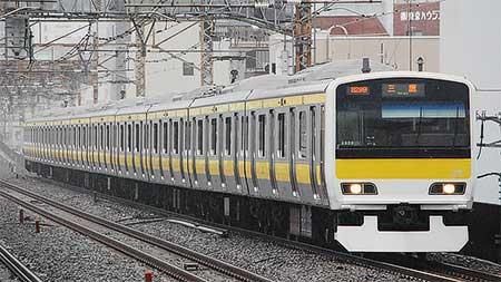 中央総武緩行線でE231系500番台が営業運転を開始