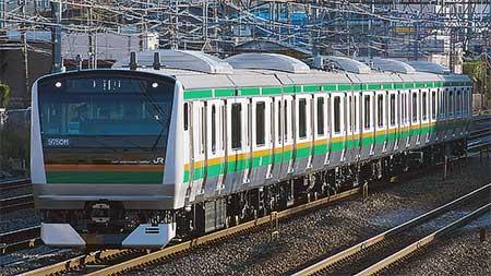 E233系3000番台U233編成が出場