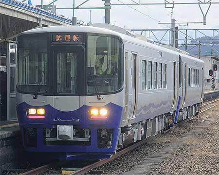 えちごトキめき鉄道ET122形が北陸本線で試運転