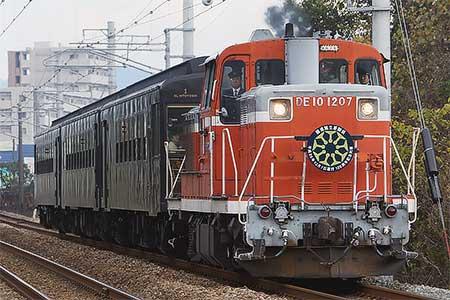 「九州鉄道125周年記念号」運転