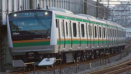 E233系3000番台U234編成が出場
