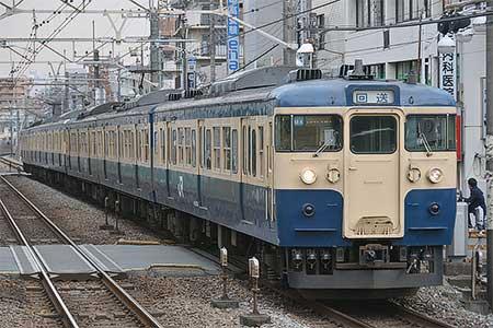 115系6両が長野総合車両センターへ