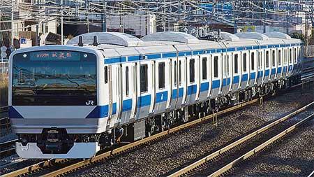 E531系K469編成が出場