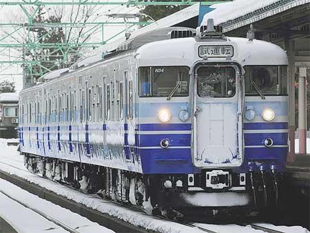 115系N34編成が長野総合車両センターから出場