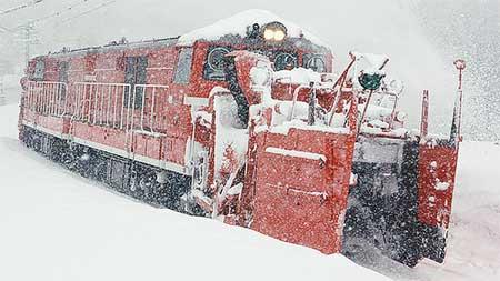 信越本線で特殊排雪列車運転