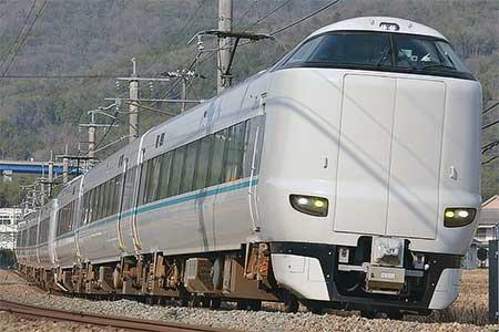 287系HC631編成が福知山区へ貸し出される