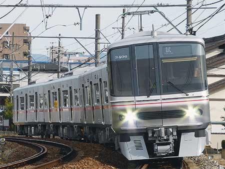 名鉄瀬戸線で3300系3306編成が試運転