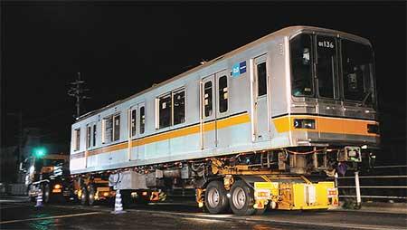 もと東京メトロ01系が熊本へ