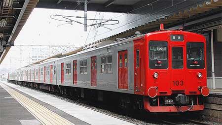 103系E06+E05が門司港へ