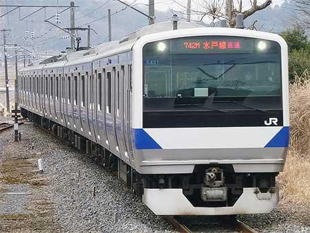 水戸線でE531系の定期運用が復活