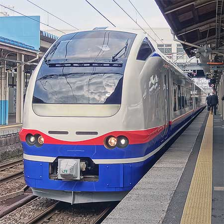 """『特急""""しらゆき""""車両展示会』開催"""