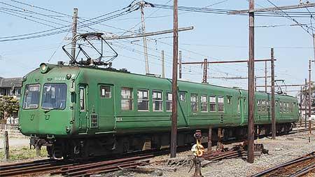 熊本電気鉄道5102Aが引退
