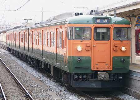 長野総合車両センター所属の115系N編成が運用離脱