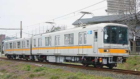 熊本電気鉄道01系が営業運転を開始