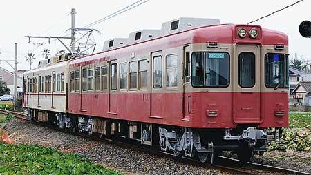 銚子電気鉄道2000形2002編成が試運転