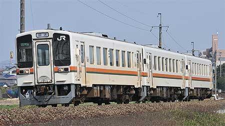 美濃太田車両区のキハ11形の一部が伊勢車両区へ