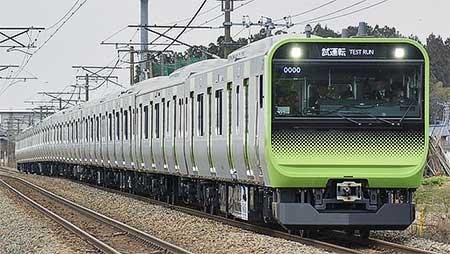 山手線向け次世代形通勤電車E235系の量産先行車が登場