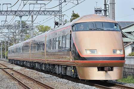 東武鉄道100系103編成が「日光詣スペーシア」となって出場試運転