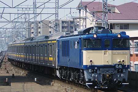 205系ナハ35編成が新津へ