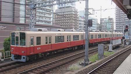 阪神8000系「赤胴車」が運用から離脱