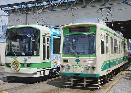 荒川電車営業所で「2015路面電車の日」記念イベント開催