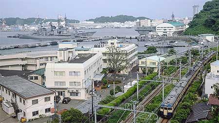 横須賀線に115系C1編成が入線