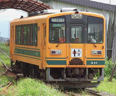 津軽鉄道で「太宰列車」の運転開始