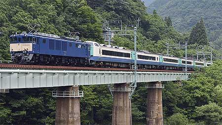 485系R22編成が長野総合車両センターへ